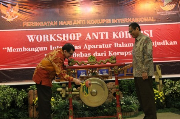 workshop anti korupsi
